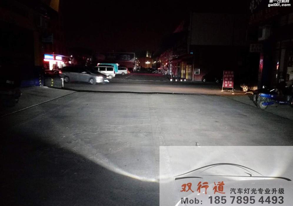 15款大众迈腾-原车透镜老化升级大灯